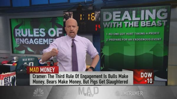 Cramer's 5 cardinal rules of engagement with the bull market