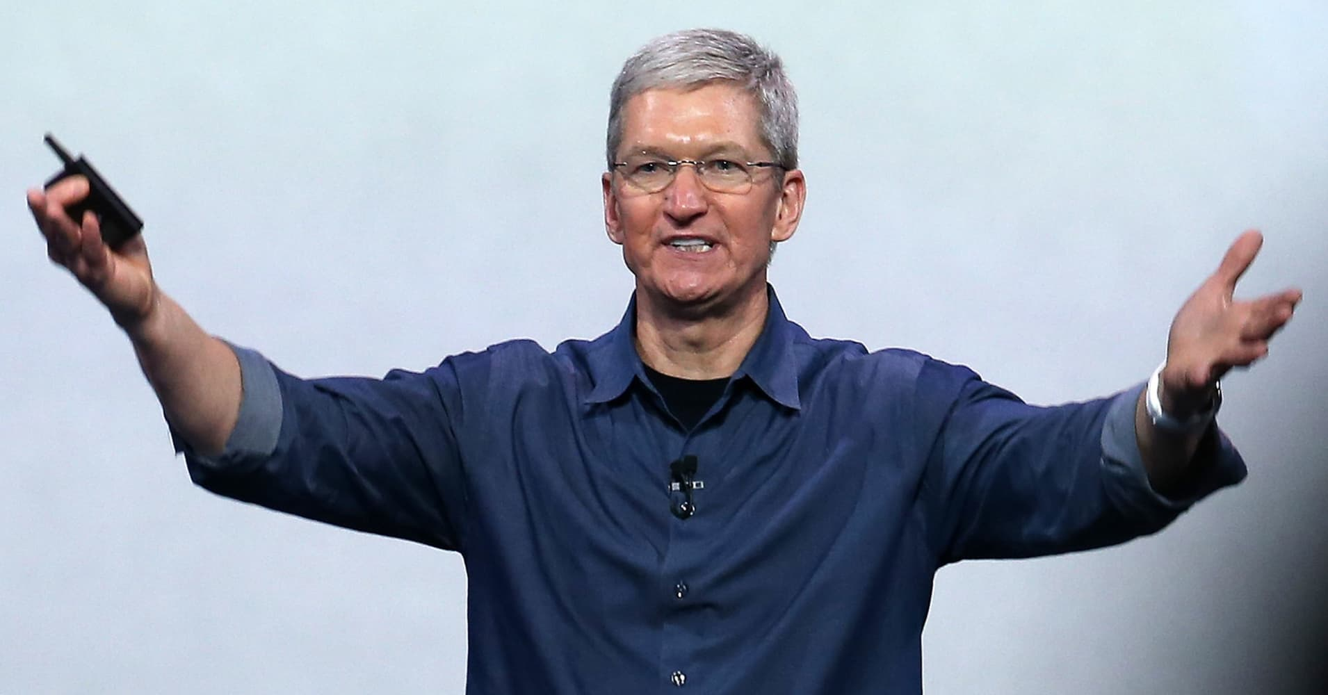 Apple also says it will create 20,000 new jobs and open a new campus.