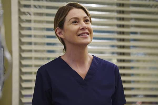 "Ellen Pompeo as Meredith Grey on ABC's ""Grey's Anatomy."""