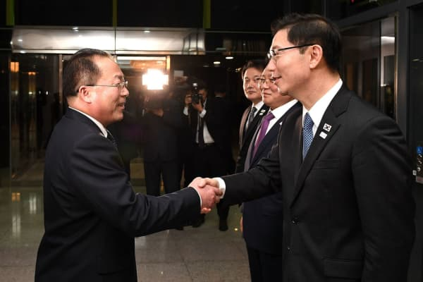 North Korea, South Korea to march together at Olympics