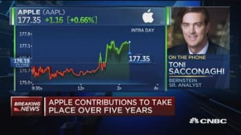 Apple says it intends to add thousands of jobs in US