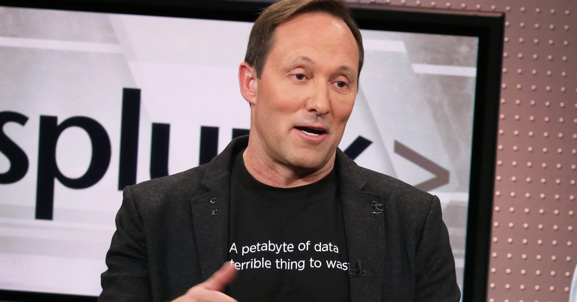 Splunk CEO talks data analytics company's new capabilities in voice, AR