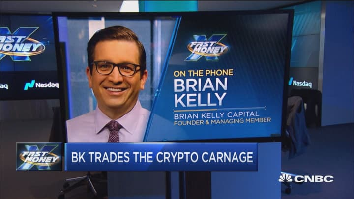 Here's how Brian Kelly is trading the crypto carnage