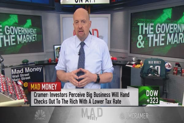 Cramer: Apple's Tim Cook credits most of $350B plan to repatriation tax holiday