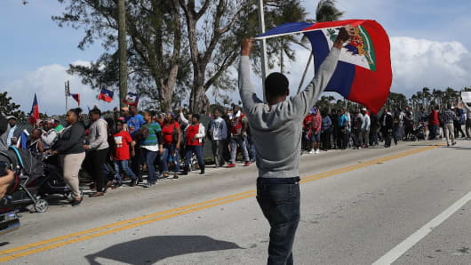 Department of Homeland Security to Block Haitians from Temporary Visa