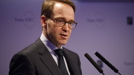 Jens Weidmann responded to the IMF's criticism of German surpluses
