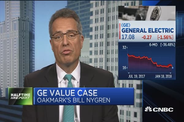 Oakmark Fund's Bill Nygren: GE was clearly 'a swing and a miss'