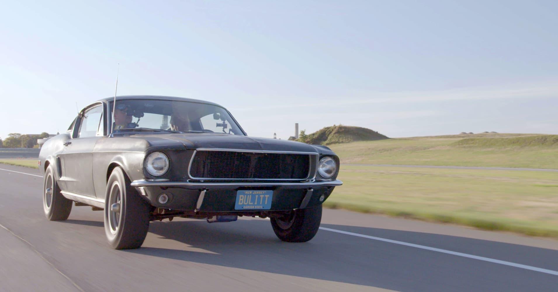 The 1968 Mustang From Bullitt Resurfaces Jay Leno Gets