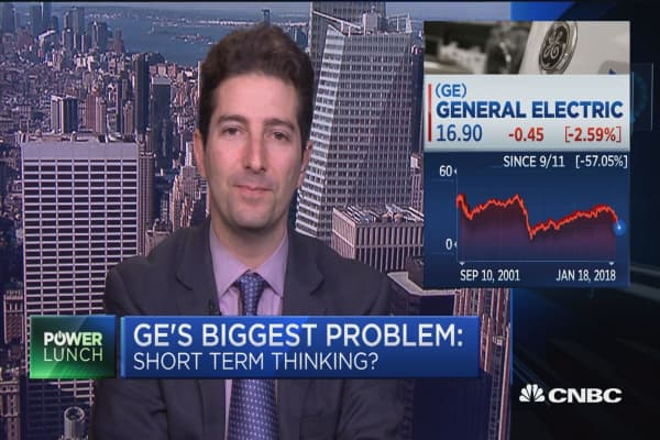 General Electric has learned its lesson in trying to please Wall Street too much: WSJ's Dennis Berman