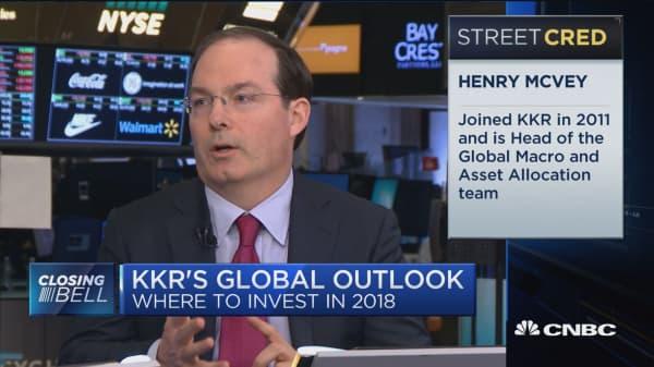 KKR's Henry McVey on where to invest globally in 2018