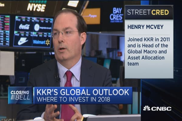 KKR's Henry McVey on where to invest globally in 2018