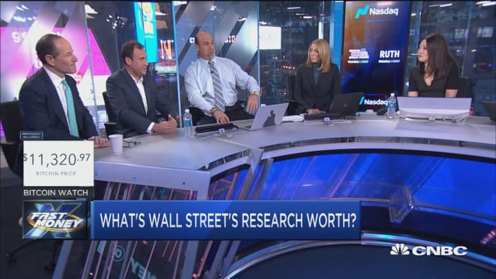 Former New York Governor Eliot Spitzer gives his take on the value of Wall Street research