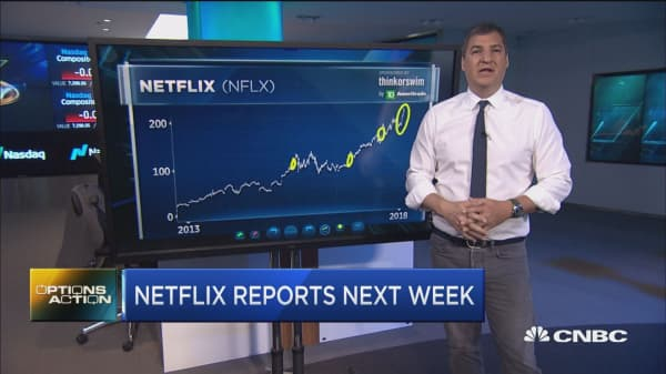 Netflix could be set to soap on earnings next week