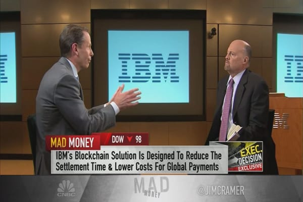 IBM executive says blockchain 'creates a lot of value' for manufacturers, retailers