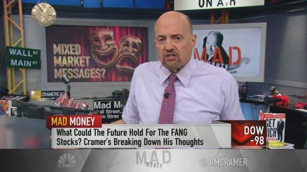 Cramer tracks 4 growing market discrepancies: Rates, Trump, cryptocurrencies and stocks