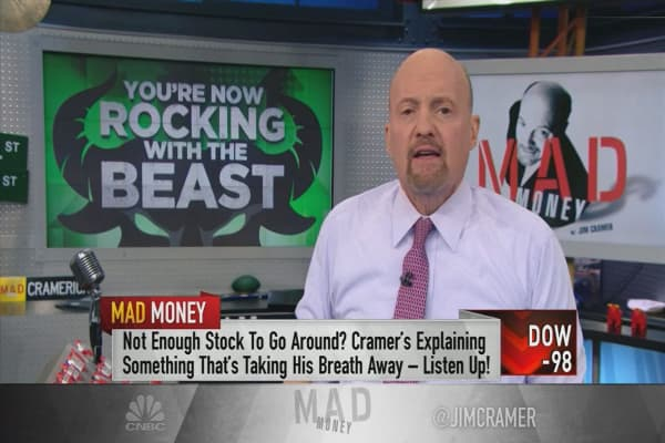 Never seen market FOMO like this: Cramer