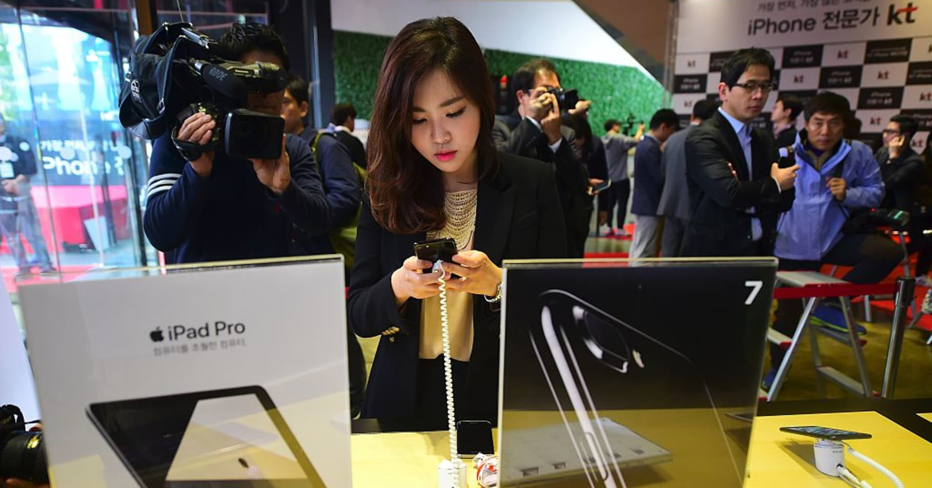 Beyond China, Apple's Asian business leans heavily on wealthier countries