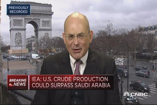IEA predicts a slowdown in crude demand growth in 2018