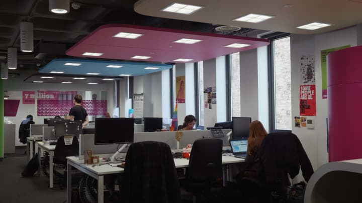 The London office of the National Union of Students signed a 15-year lease for its lighting.