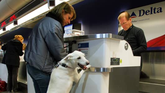 Delta Air Lines adds new requirements for passengers flying with service animals