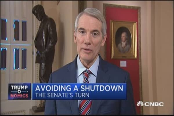 Sen. Rob Portman: Democrats found 'soft ground to fight on' by holding out on spending bill