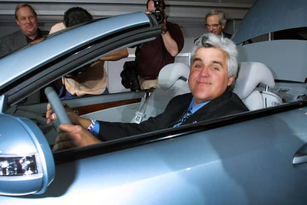 Jay Leno has an impressive car collection