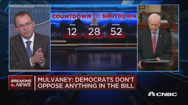 OMB Director Mulvaney: We are going to manage the shutdown differently