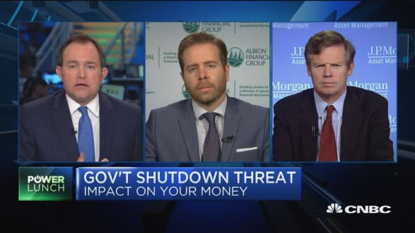 Government shutdown is not a market event: Albion's Jason Ware