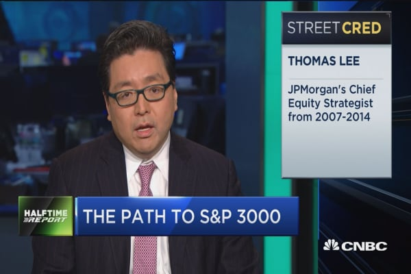 Fundstrat's Tom Lee: 2029 is the peak of this market cycle