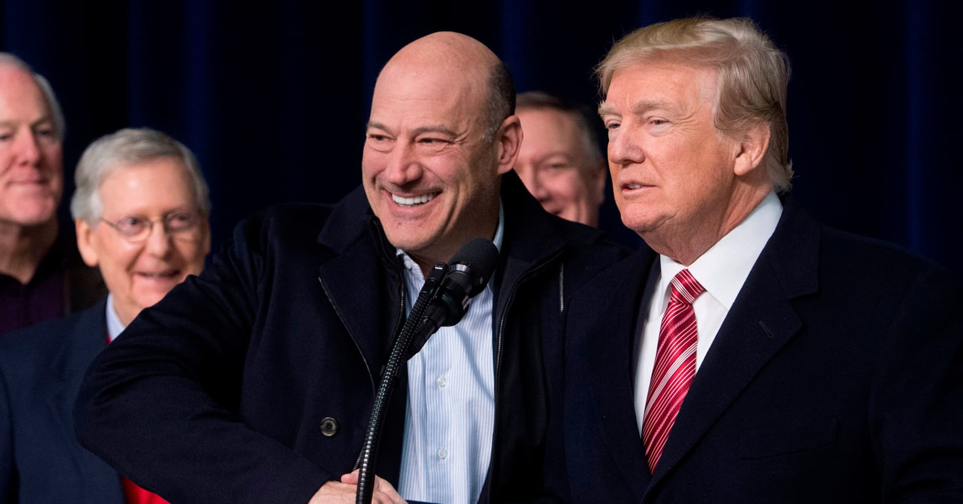 One Goldman takeover that failed: The Trump White House