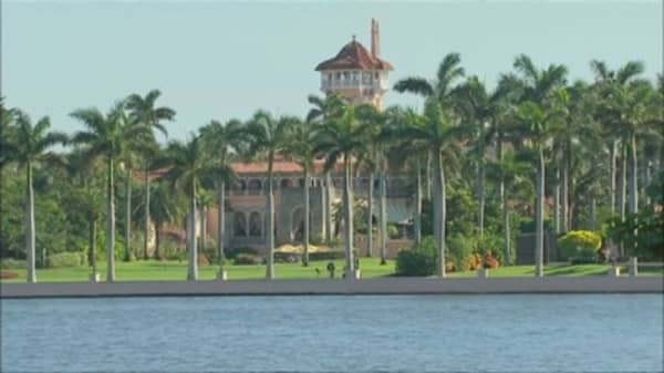 Trump throwing inauguration anniversary bash at Mar-a-Lago, and tickets start at $100,000 a pair