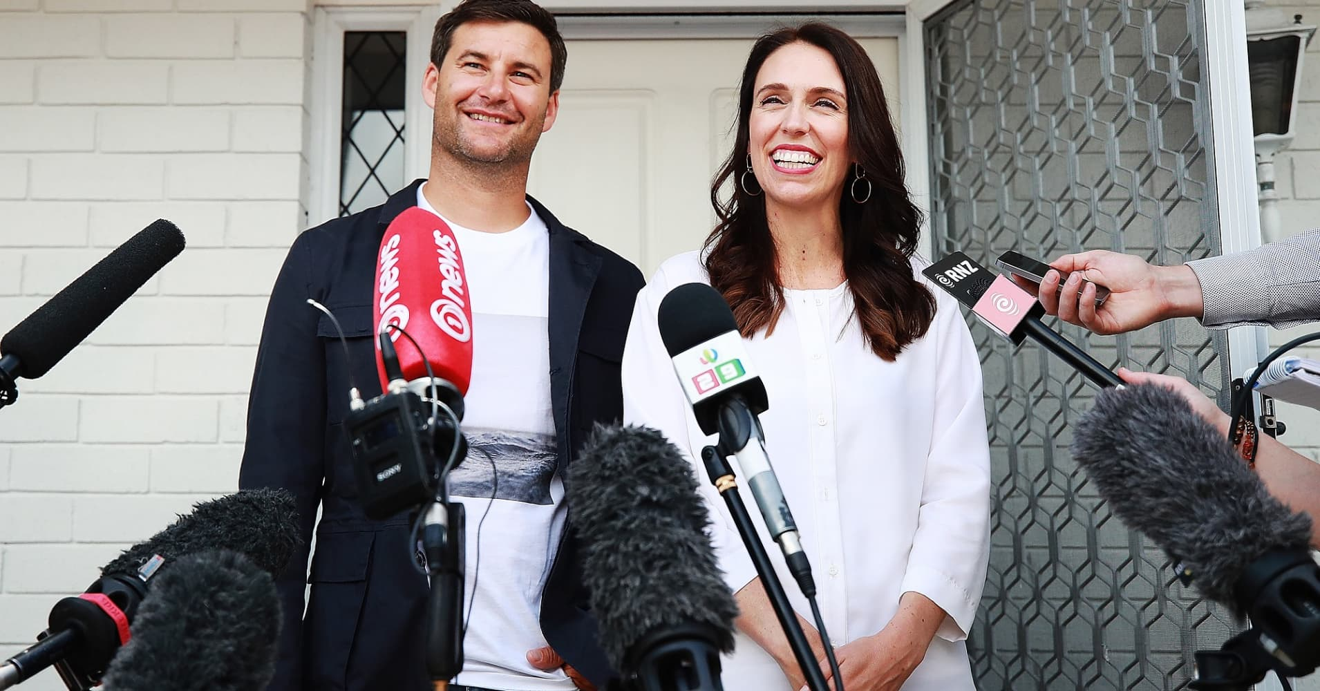 New Zealand premier says she's having a baby
