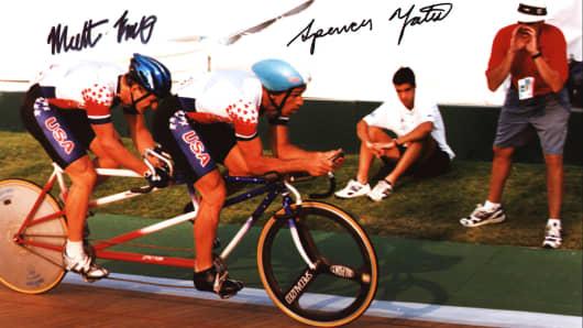Matt King at the 1996 Paralympics in Atlanta, Georgia.