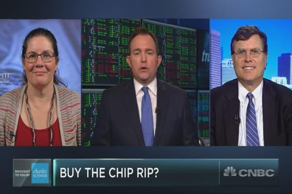 Semiconductor stocks surge