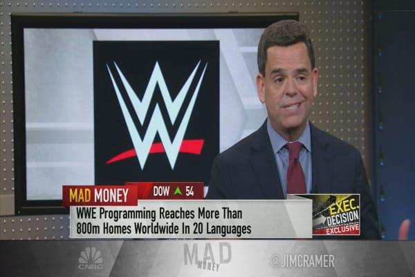 WWE CFO says company is a 'data powerhouse'