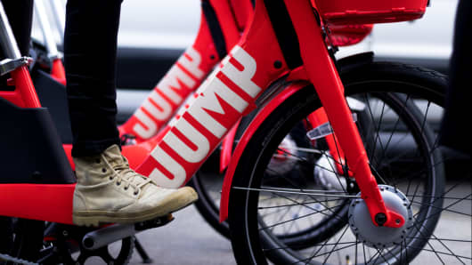 New York-based Jump Bikes brought dockless bike sharing to the U.S.