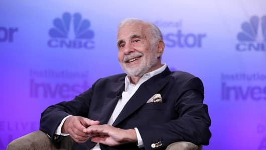 Carl Icahn at the 6th annual CNBC Institutional Investor Delivering Alpha Conference on September 13, 2016.