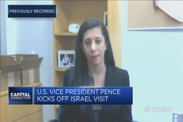 US Vice President pence faces chilly reception in Middle East