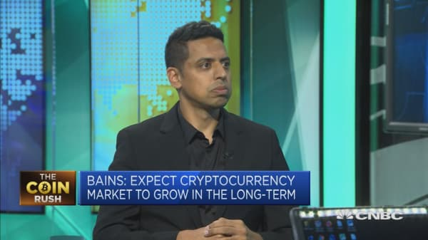 This company is watching the swings in cryptocurrency prices