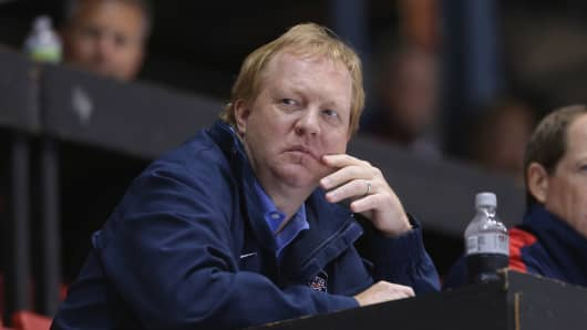 Jim Johannson, the general manager of the U.S. Olympic men's hockey team.