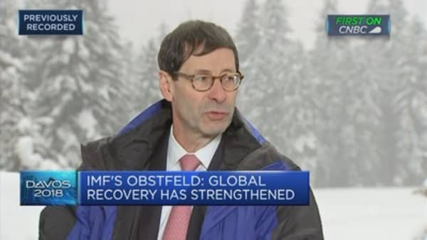 Near more broad-based reform worldwide, IMF's Obstfeld says