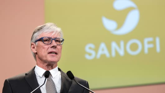 Olivier Brandicourt, Sanofi CEO.
