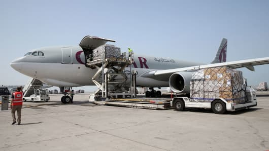 United States  orders additional air cargo screening for flights from Mideast