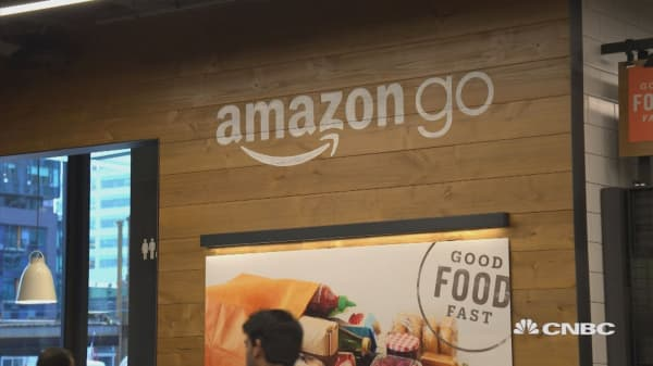 Amazon automated grocery store finally launches