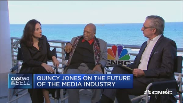 Quincy Jones speaks to CNBC about the future of music