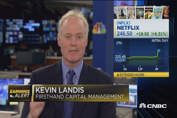 Netflix shares pop on strong guidance