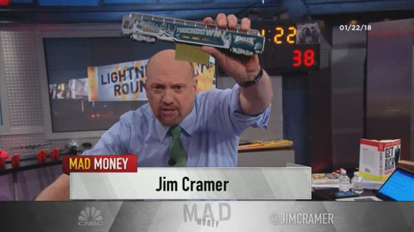 Cramer's lightning round: Stick with Splunk for an investment in the cloud