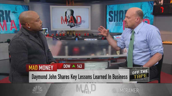 'Shark Tank's' Daymond John: Being selfish is a key to success