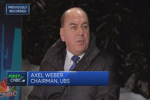 Sentiment in the market is too buoyant: UBS Chairman Axel Weber
