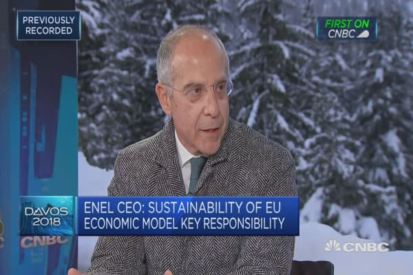 Italy PM Gentiloni squeezed out maximum reforms: Enel CEO